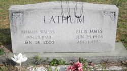 Birmah <I>Wallis</I> Lathum
