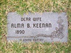 Alma Bertha <I>Lamountain</I> Keenan