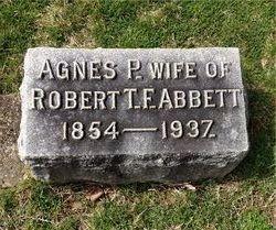 Agnes <I>Pattie</I> Abbett