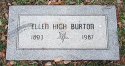 Ellen High Burton