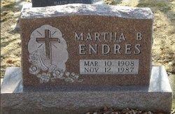 Martha B <I>Gilles</I> Endres