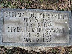 Clyde Elmer Gambill