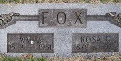 Rosa C <I>Edgar</I> Fox