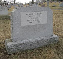 Anna M. <I>Gibbins</I> Horan