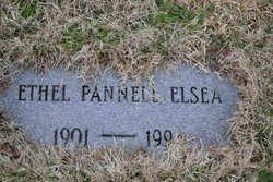 Mary Ethel <I>Pannell</I> Elsea