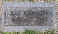 Olive Pemberton