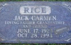 Jack Carmen Rice