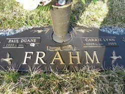 Carrie Lynn <I>Gray</I> Frahm