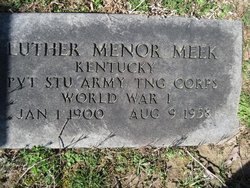 Luther Menor Meek