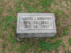 Thomas J Barkman