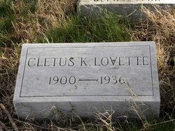 Cletus K Lovette