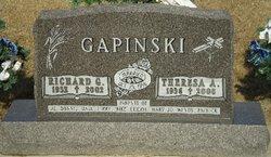 Theresa Agnes <I>Przybilla</I> Gapinski