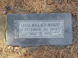 Lelia Dee <I>Wallace</I> Wright