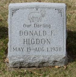 Donald F Higdon