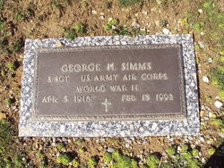 SSGT George H. Simms