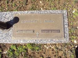 Dorothy L. Simms