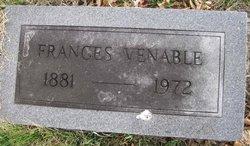 Frances Venable