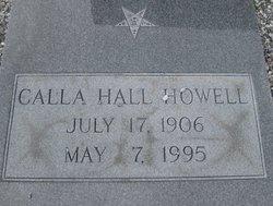 Calla <I>Hall</I> Howell