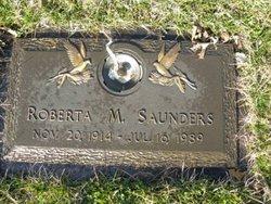 Roberta M. Saunders