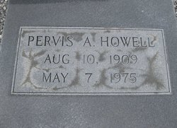 Pervis A Howell