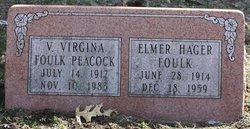 V. Virginia Foulk Peacock