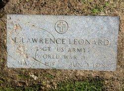 Elbert Lawrence Leonard