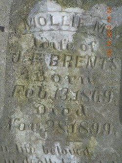 Mollie Mary <I>Brownlee</I> Brents