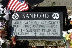 Hazel Scott Sanford
