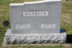 """Floyd """"Bud"""" Manbeck"""