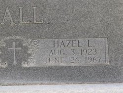 Hazel L Hall