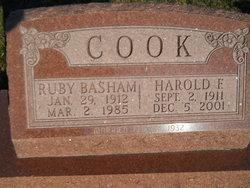 Harold F Cook
