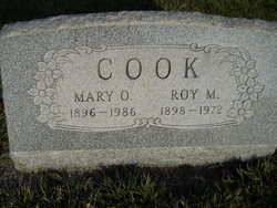 Mary O Cook
