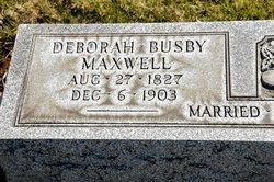 Deborah <I>Busby</I> Maxwell