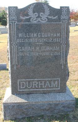 Sarah R <I>Warfield</I> Durham