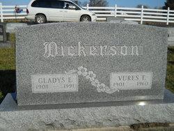 Gladys E <I>Francis</I> Dickerson