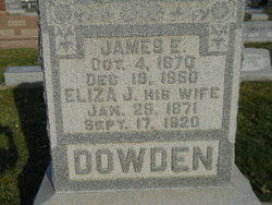 James Ephraim Dowden
