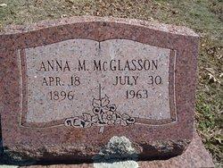 Anna May <I>Sipes</I> McGlasson