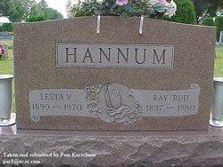 "Ray ""Bud"" Hannum"