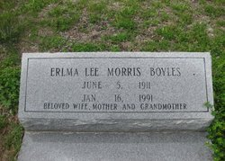 Erlma Lee <I>Morris</I> Boyles