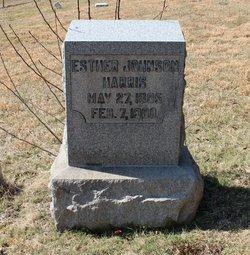 Esther <I>Johnson</I> Harris