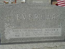 Mary E <I>Tincher</I> Everhart