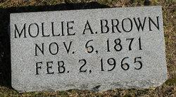 Mollie Andrew Jackson Brown