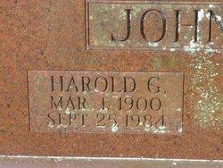 Harold G Johnson