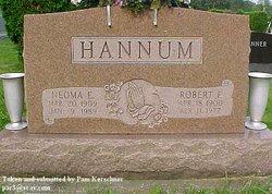 Robert F Hannum