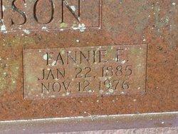 Fannie E Johnson