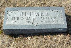 Thressia Cleo <I>Bailey</I> Beemer