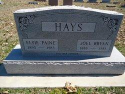 Elsie <I>Paine</I> Hays