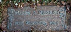 Maxine A. <I>McDowell</I> Menough