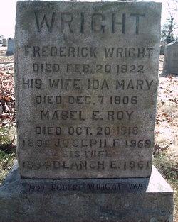 Mabel E. <I>Wright</I> Roy