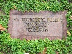 Walter Record Fuller